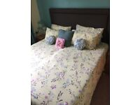 Two single Dunloppillo Adjustable beds with headboard - REDUCED!!