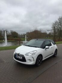 Citeron DS3 Cabrio Petrol 1.6 VTi Dstyle Chrome Pack