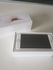 Iphone 6s 16gb. Small crack in corner of screen. Full worming condition! Fully boxed.