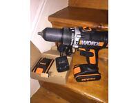WORX hammer drill 20v