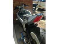 GSXR 600 SRAD streetfighter subframe tail end