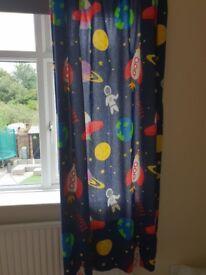 Kids space theme bedroom items