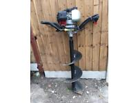 Fence Post Hole Driller - Petrol Auger - CROYDON