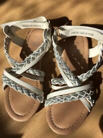 Size 12 girls SANDALS BRAND NEW