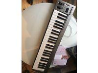 Acorn Instruments MasterKey 49 Key USB MIDI Keyboard studio