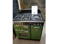 Rangemaster cooker classic 90 lpg gas electric with manual