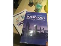 3 Sociology books