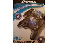 Energizer charge system ps4 new!!