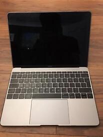 MacBook 12 space gray 1.3ghz m7