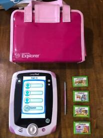 LeapPad and 4 games