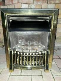 Cannon gas fire place