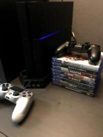 PS4 bundle excellent condition