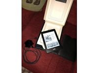 Kindle Paperwhite Fully Boxed with new 100% Leather Pouch/Amazon Powerfast Original Charger
