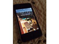 apple iphone 4 on o2 16 gb black
