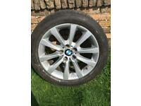 BMW 5 series 18 inch alloy wheel