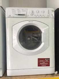 Hotpoint white good looking 7kg wash & dry 1400spin washing machine