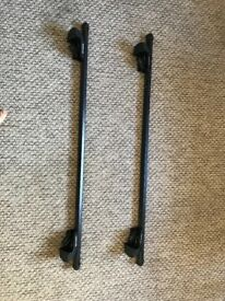 Halfords Roof Bars for Roof Rails