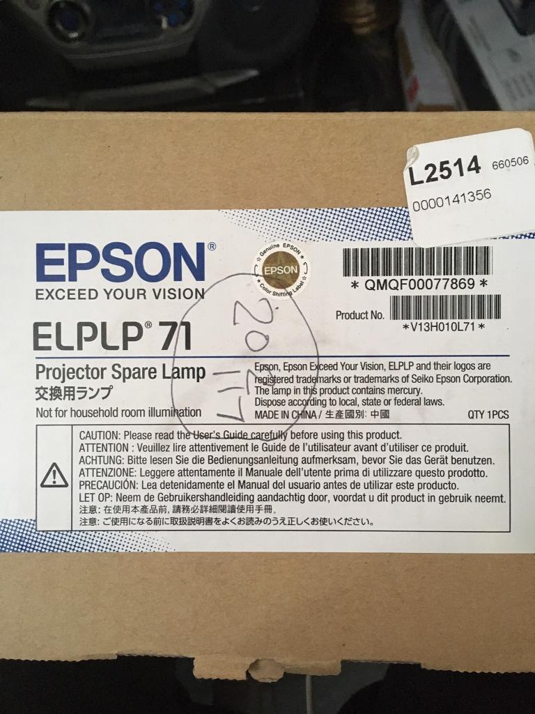 EPSON ELPLP 71 LAMP