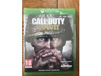Cod ww2, overwatch game of the year, shadow of war Xbox one new sealed