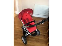 Rebel Red Quinny Buzz Pushchair