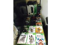 Huge lmtd ed. 250gb Xbox 360 Kinect 14 games!
