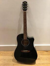 Fender Electro Acoustic Guitar CD60CE in black VGC.