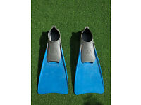 Kiefer Rubber Long Swimming Training Fins (Size EUR 40-41)