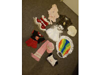 Very good condition Build A Bear Outfits bundle