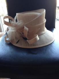 Wedding hat and box