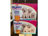 Puppy Trainer Pads - Pet Hut brand - Box 200