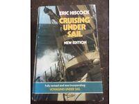 Sailing books, hardback - in good condition
