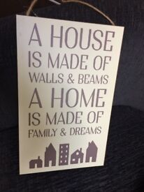 Hanging wall plaques for home decor