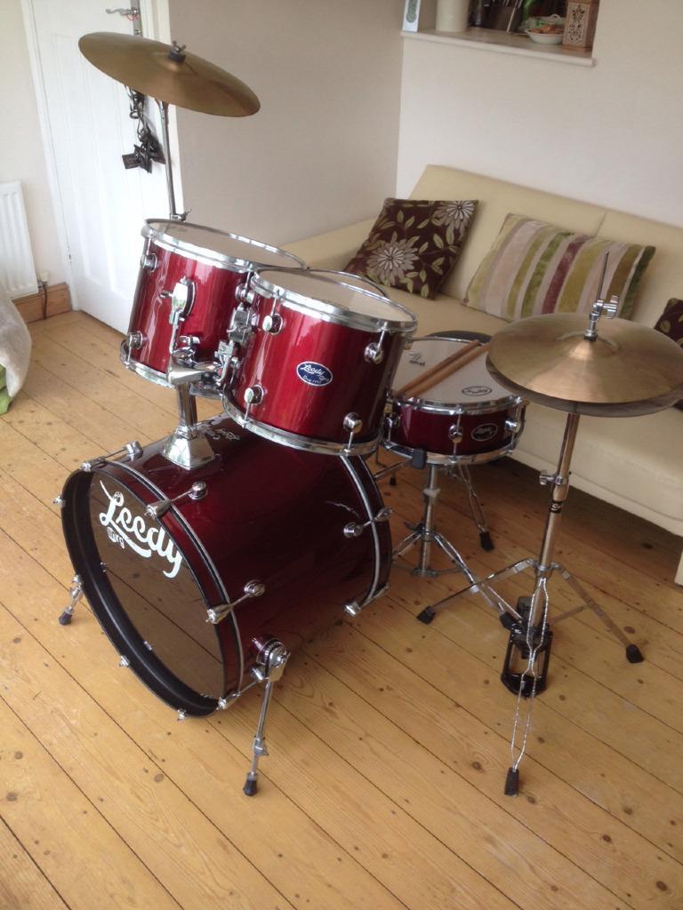 Hi Hat Cymbals Gumtree Brisbane : leedy 5 drum kit with all stands cymbals extras in stroud gloucestershire gumtree ~ Russianpoet.info Haus und Dekorationen