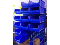 Panel Trolley with Bins