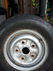 Van spare wheel an tyre