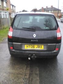 I have a 2.0 Renault scenic dynamique for sale 2006 petrol, runs well with no problems at all.