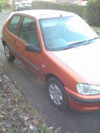 1.1 Peugeot 106 MOT 9 months