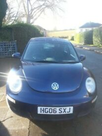 VW Beetle with low mileage