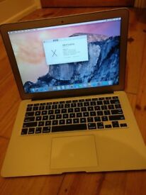 MacBoox Air 13 inch, Core i7 1.8 GHz, 4 GB RAM, 256 GB SSD, Great condition