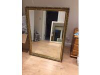 3 Large Mirrors w/ framing