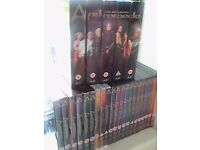 Andromeda - over 30 dvds, including The complete series boxset A1-A5