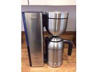 Stainless steel bosch solitaire coffee machine