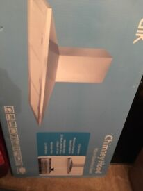 Brand new boxed chimney hood 90cm