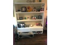 Large White Shelving Unit (Free!)