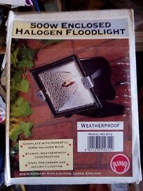 500w halogen light
