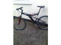 FOR SALE # RETRO TREK Y3 BIKE # CBR BIKE [RARE FRAME] # BLACK BIKE