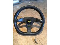 Sparco Rossi Marco 330mm Steering Wheel with matching MOMO EK9 DC5 EP3