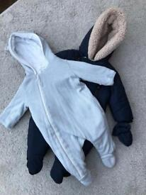 All in Ones (Mori and Mothercare) 0-3 months