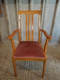 6 Carver Dining Chairs