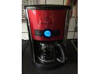 Russell Hobbs Heritage Coffee Maker 19170 - Metalic Red